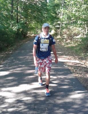 Steven Rau 900km Weltrekord