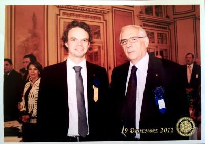 David Rau in Rotary Santiago de Chile